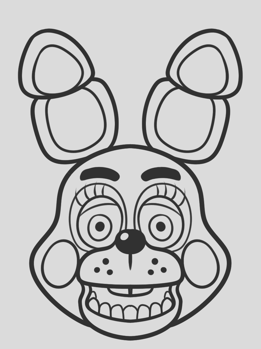 fnaf coloring pages 31