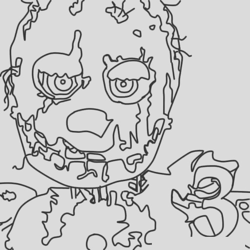 fnaf coloring pages 7
