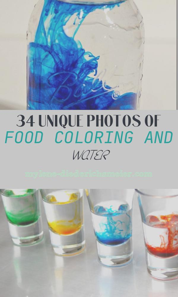 Food Coloring and Water Beautiful Red White and Blue Centerpiece It All Started with Paint