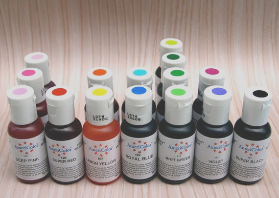 electric yellow gel paste food coloring