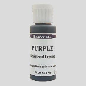 purple food coloring