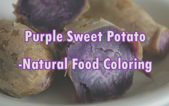 add sweet potatoes line natural food colorings