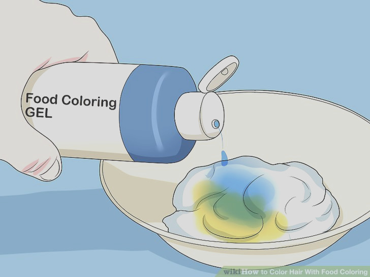 Color Hair With Food Coloring
