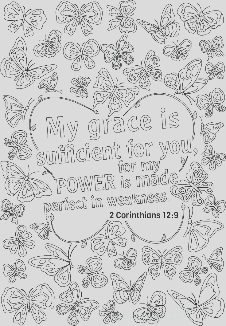 bible verse coloring pages my grace is sufficient for you