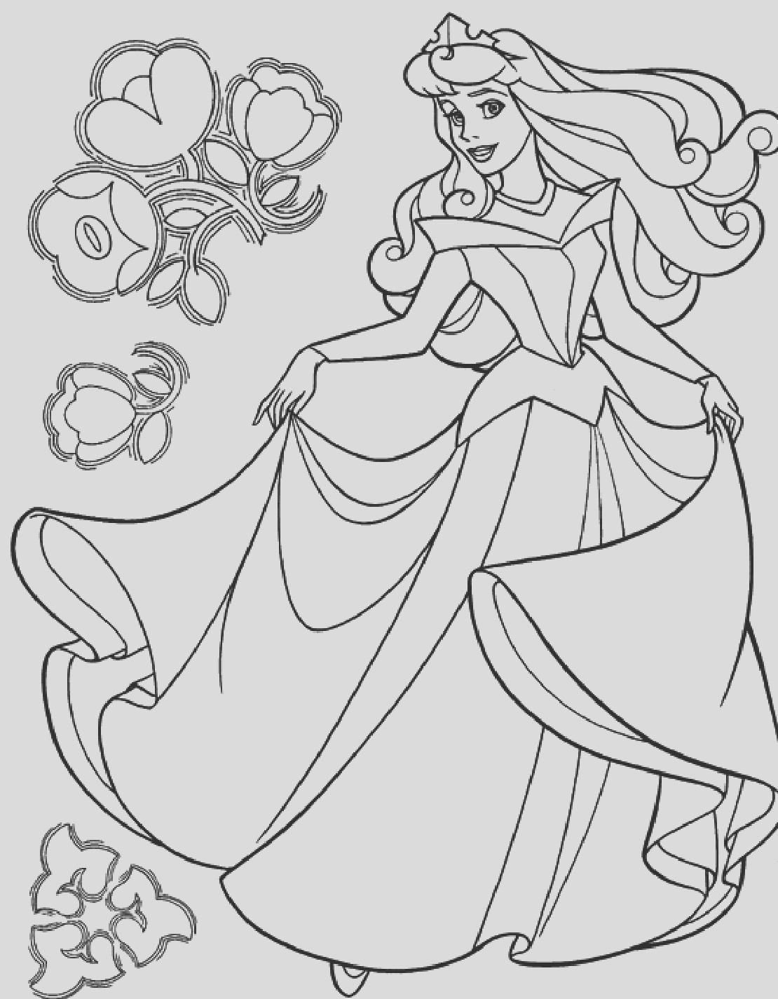 cinderella coloring pages free printable coloring worksheets 6