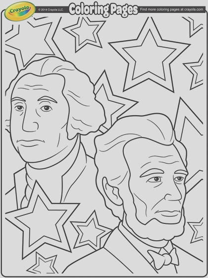 george washington and abraham lincoln coloring page