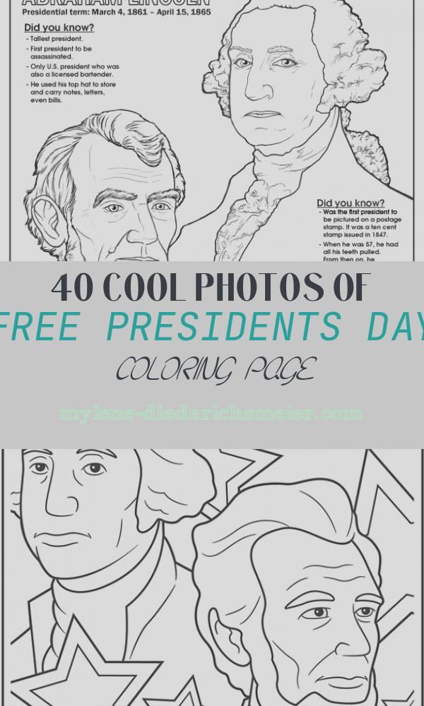 Free Presidents Day Coloring Page Inspirational Coloring Books