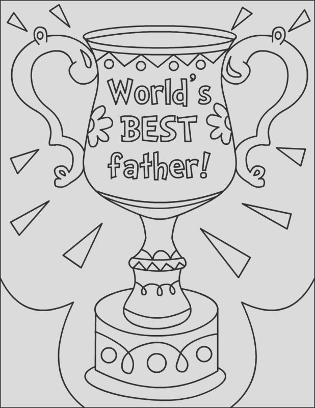 fathers day coloring 25