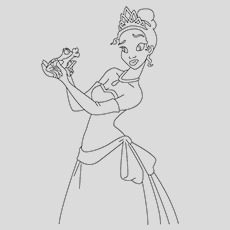 beautiful princess coloring pages for your little girl