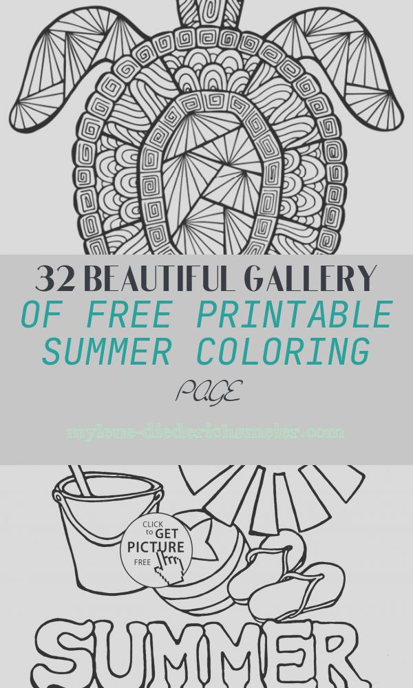Free Printable Summer Coloring Page New 12 Free Printable Adult Coloring Pages for Summer