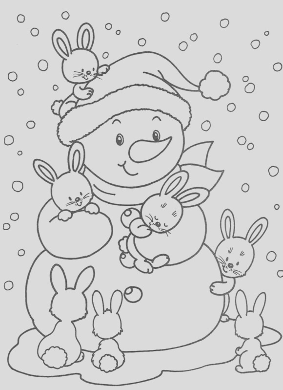 48 winter coloring pages 2026 3