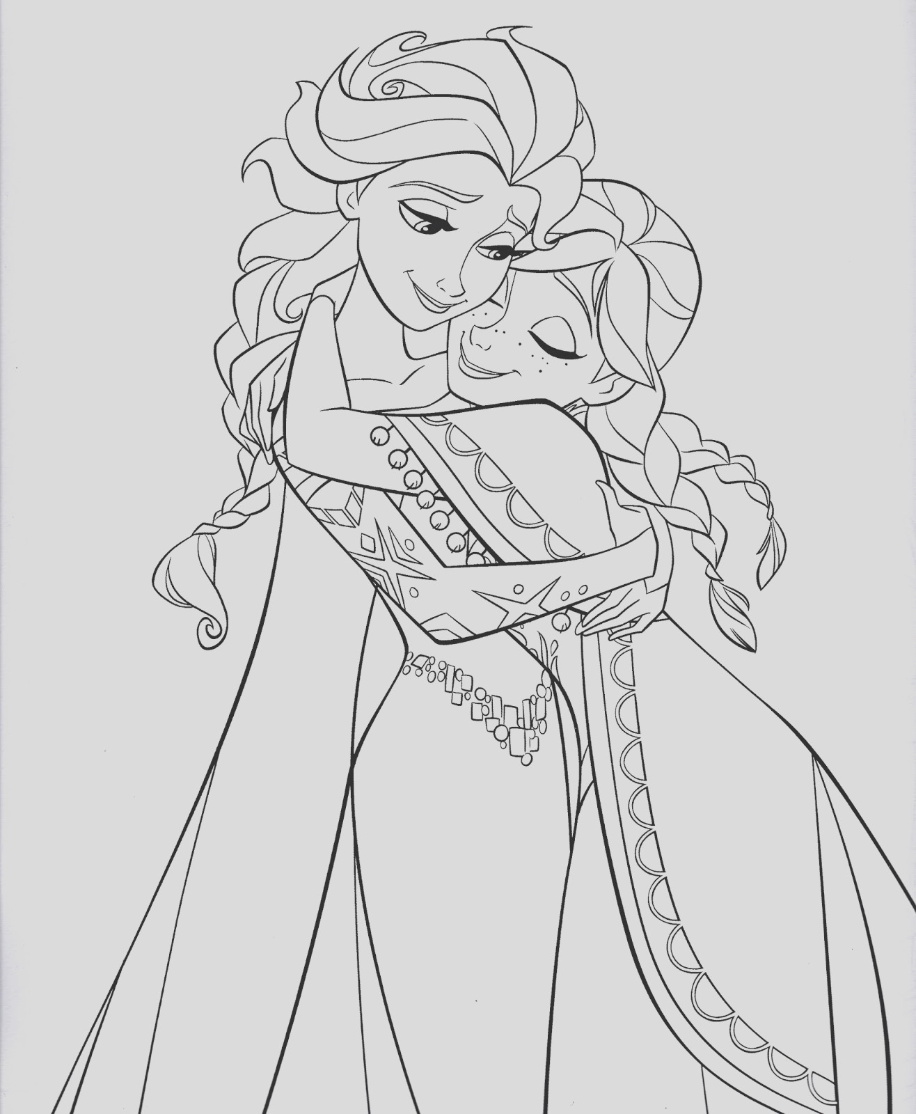 characters from frozen