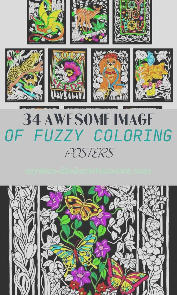 Fuzzy Coloring Posters Luxury Terrific 10 Pack Of Fuzzy Velvet 11x15 Inch Posters by