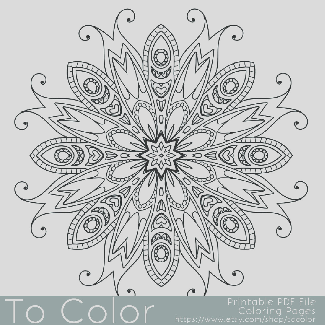 detailed printable coloring pages for