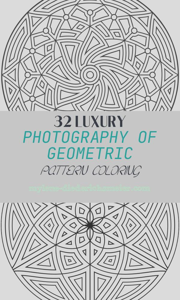 Geometric Pattern Coloring Awesome Free Printable Geometric Coloring Pages for Kids
