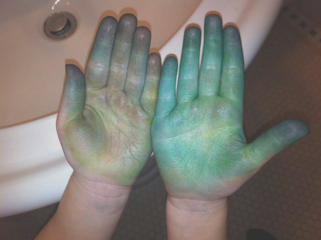 how to easter egg dye off your hands