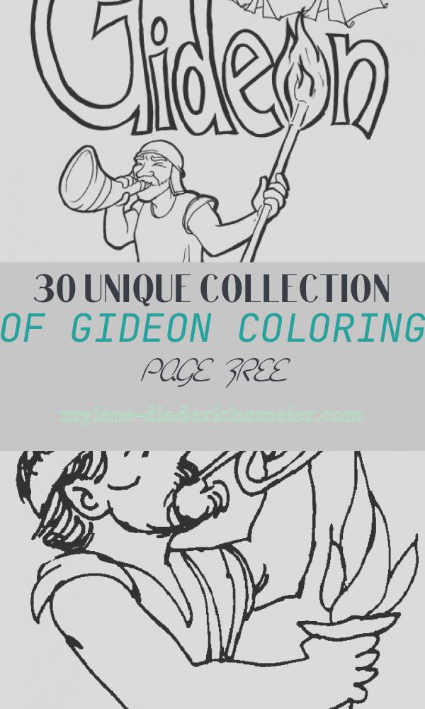 Gideon Coloring Page Free Elegant Gideon Coloring Page – Children S Ministry Deals