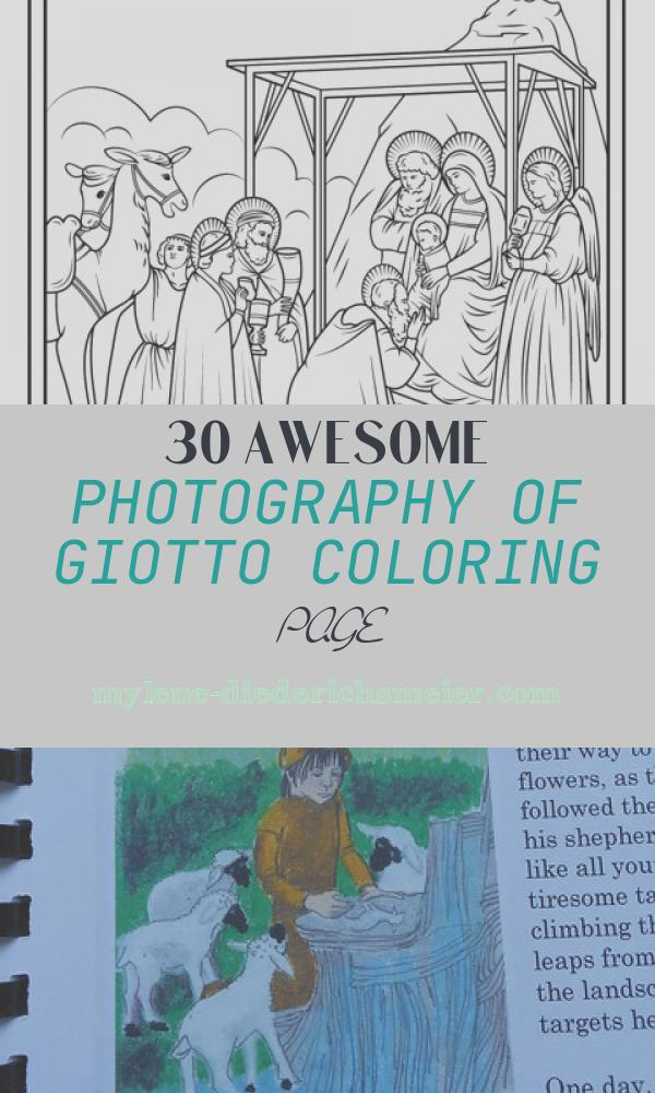 Giotto Coloring Page Lovely Adoration Of the Magi by Giotto Coloring Page