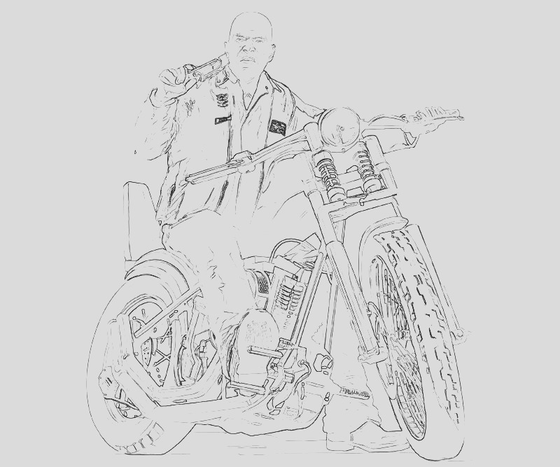grand theft auto coloring pages
