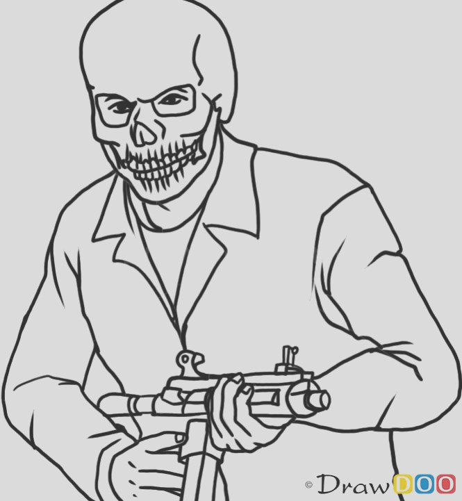 gta 5 coloring pages
