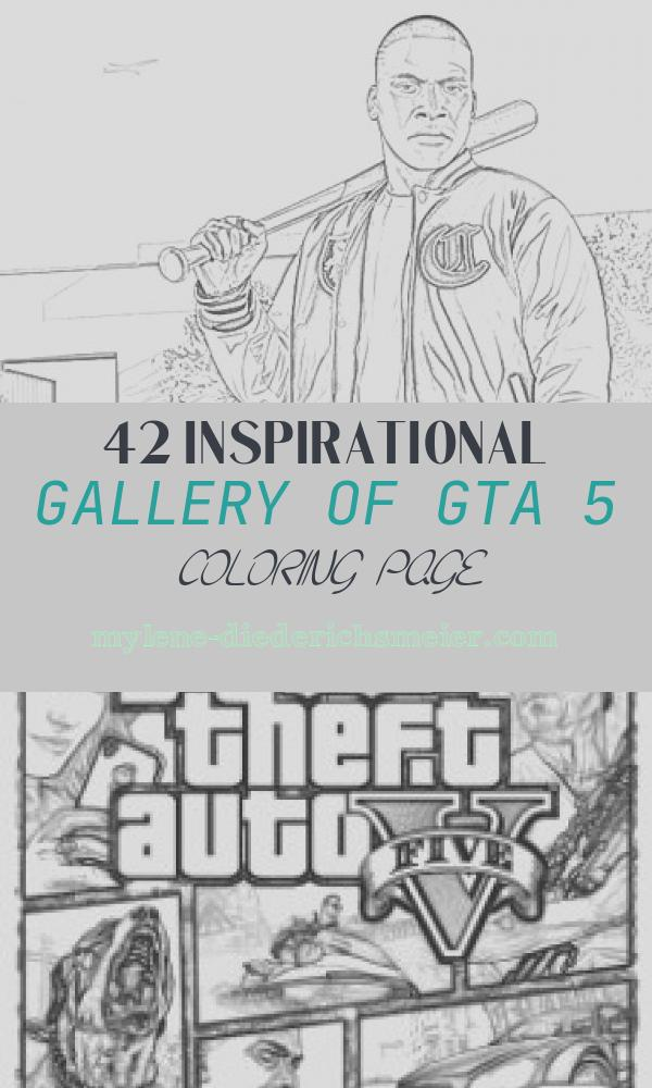 Gta 5 Coloring Page Lovely Coloring Pages Grand theft Auto Coloring Pages Free and