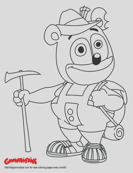 a printable gummibar august 2016 coloring page