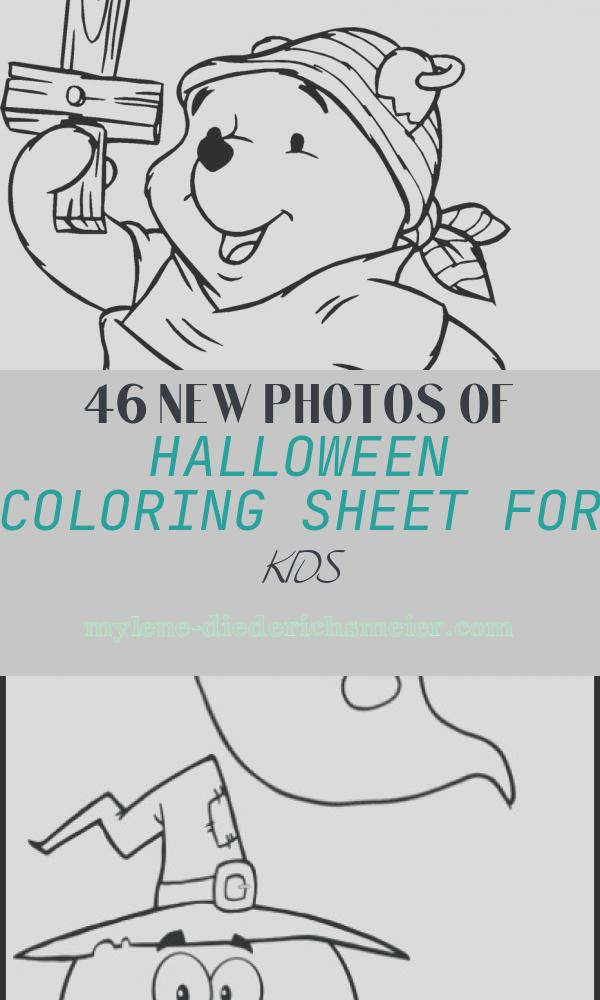 Halloween Coloring Sheet for Kids Lovely 24 Free Printable Halloween Coloring Pages for Kids