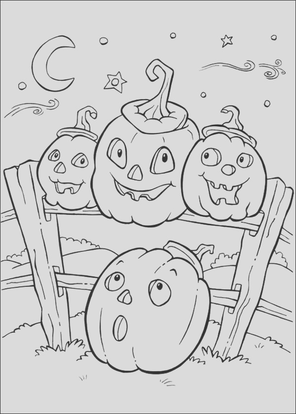 fun halloween coloring pages for kids