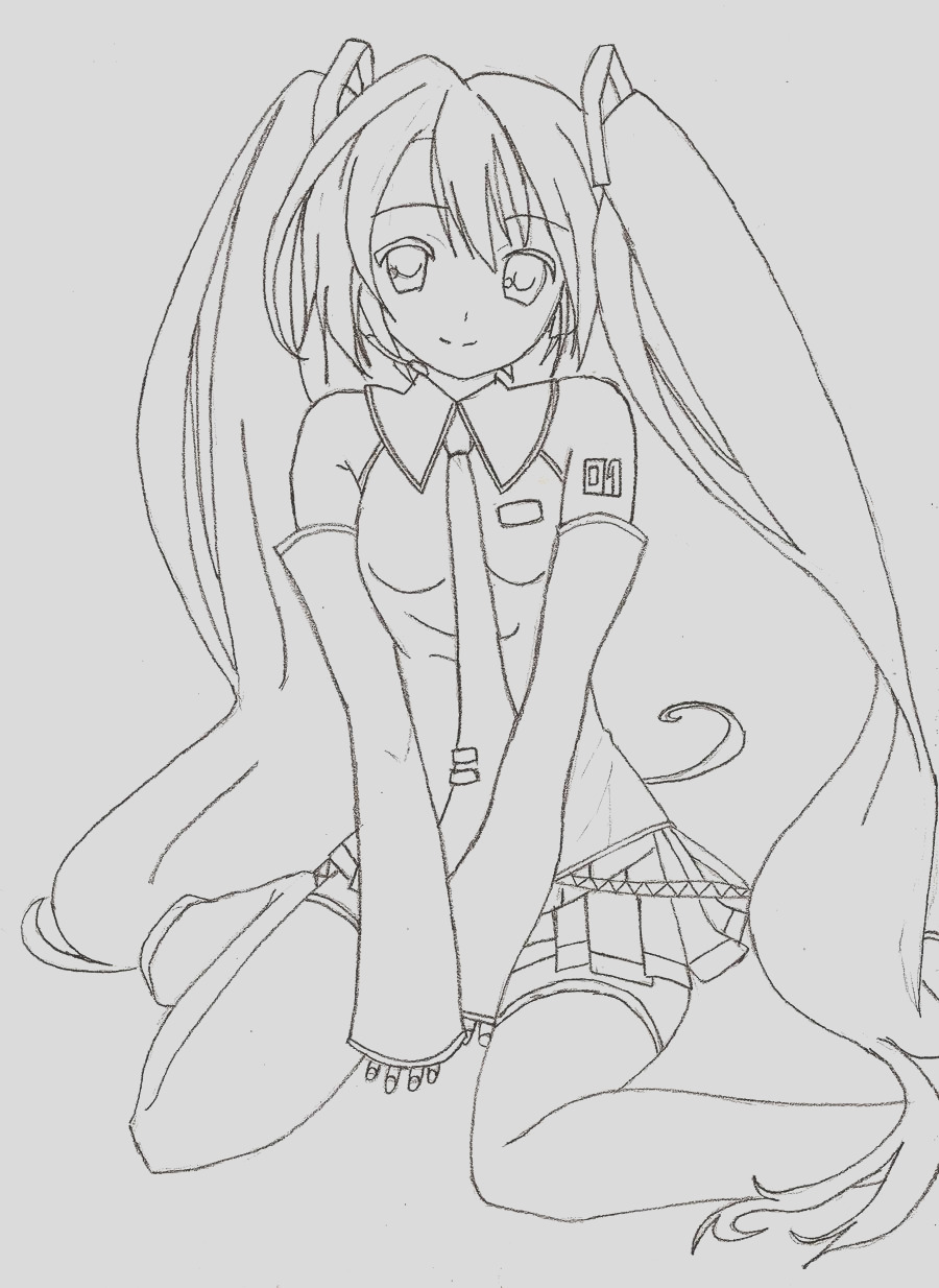 Unfinished Hatsune Miku