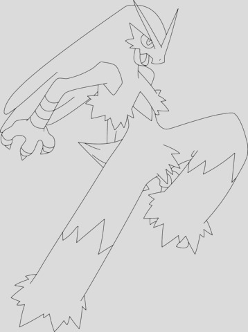 hawlucha pokemon pages sketch templates