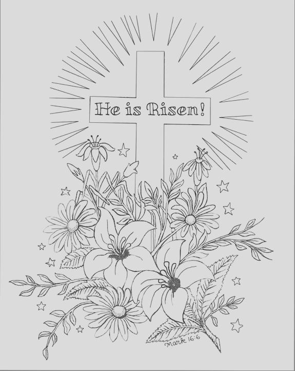 christian coloring pages nt
