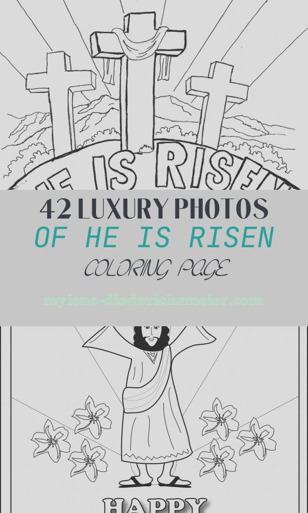 "He is Risen Coloring Page Best Of Easter Coloring Page for Kids ""he is Risen"" the Blog Has"