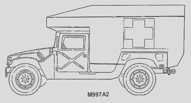 army truck drawing