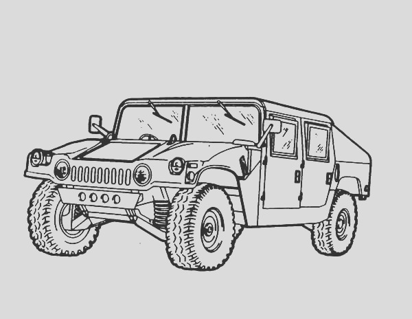 army hummer pages sketch templates