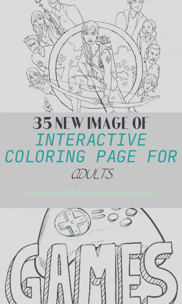 Interactive Coloring Page for Adults Lovely Interactive Coloring Pages for Adults at Getcolorings