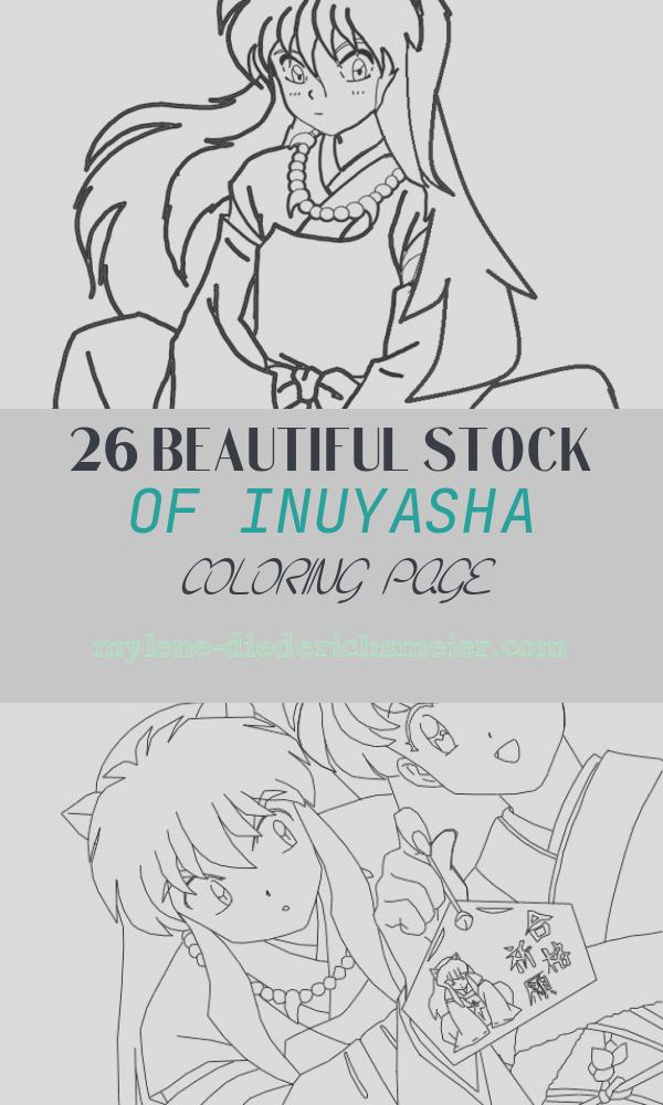 Inuyasha Coloring Page Unique Printable Inuyasha Coloring Pages for Kids