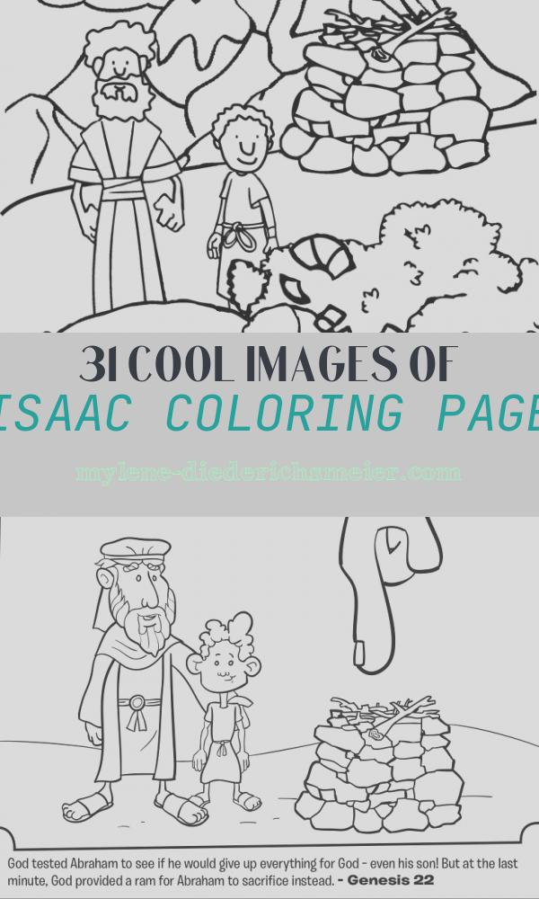Isaac Coloring Page Beautiful Abraham Fers isaac Coloring Page Crafting the Word God