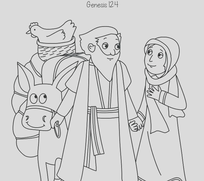 isaac is born coloring pages