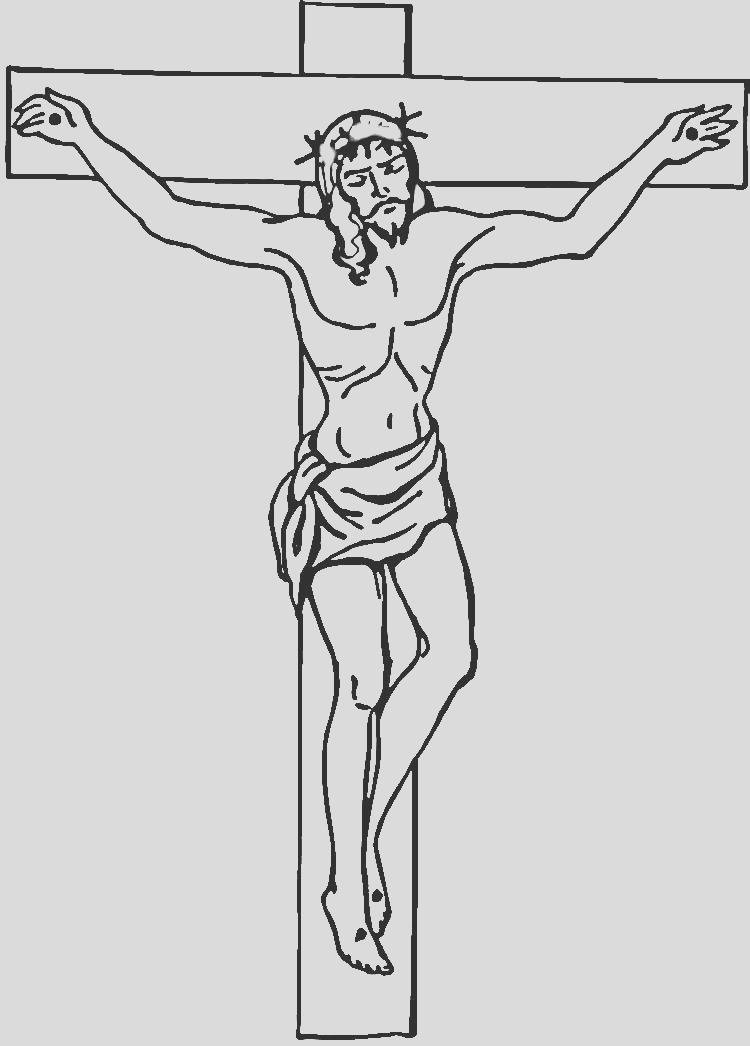pictures of black jesus on the cross