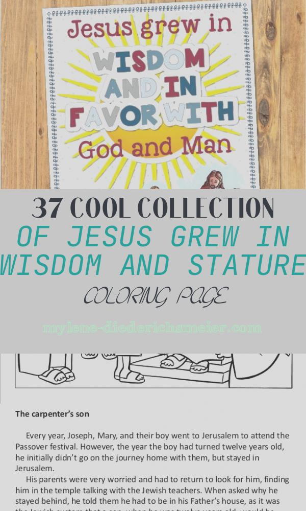 Jesus Grew In Wisdom and Stature Coloring Page Best Of 1687 Best Lds Primary Images On Pinterest