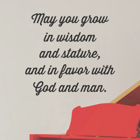 may you grow wisdom wall quotesdecal