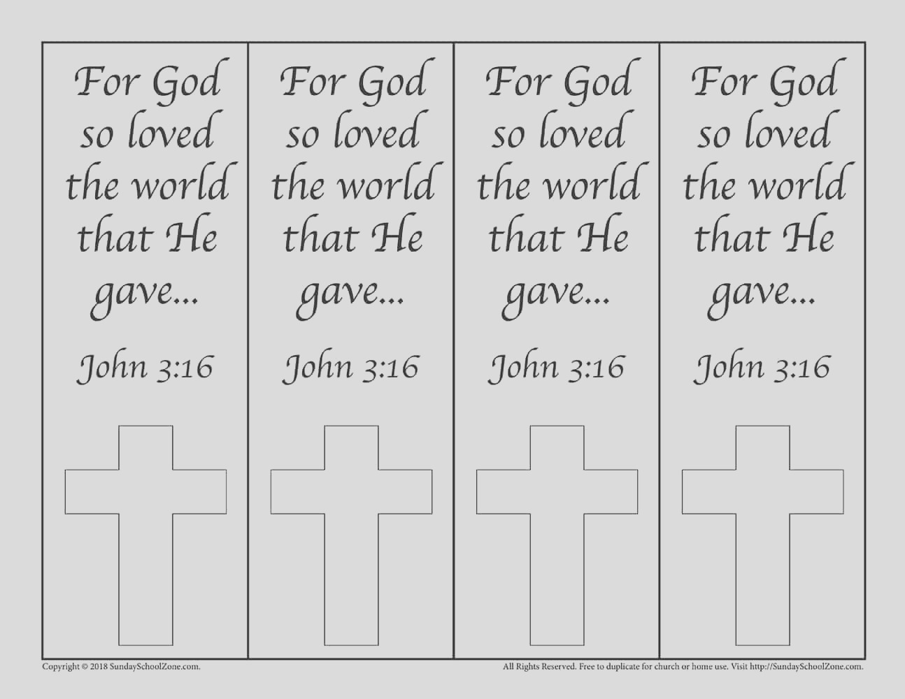 colorable john 316 bookmarks