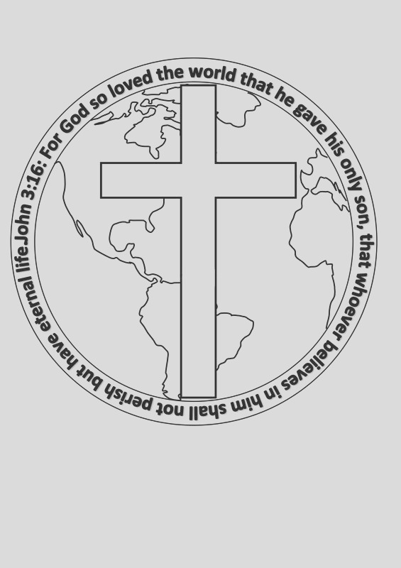 john 3 16 valentine coloring page sketch templates