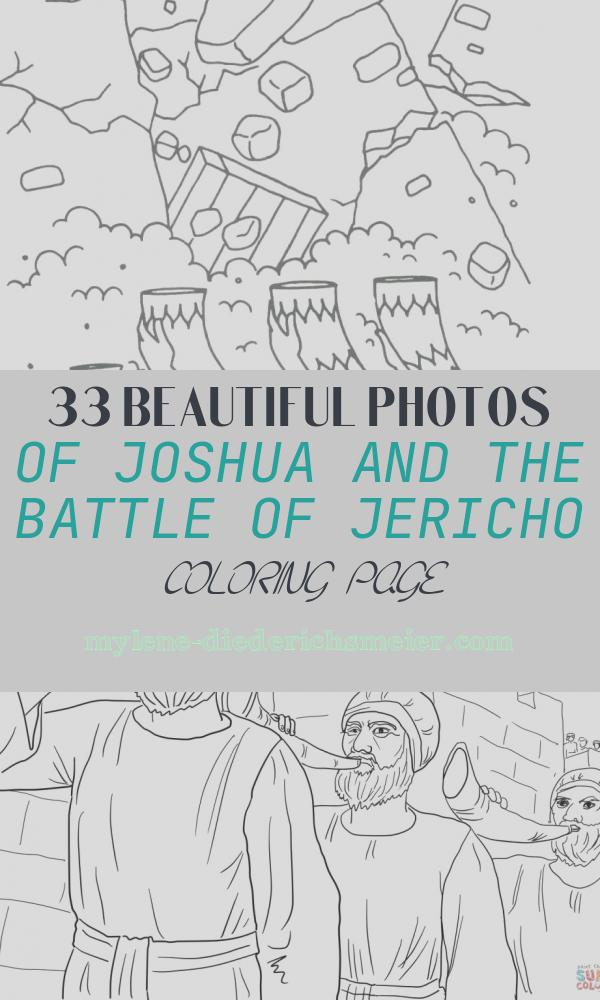 Joshua and the Battle Of Jericho Coloring Page Elegant Battle Jericho Coloring Page Coloring Home