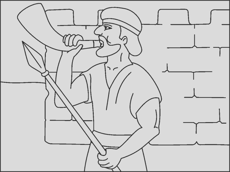 bible joshua coloringpage