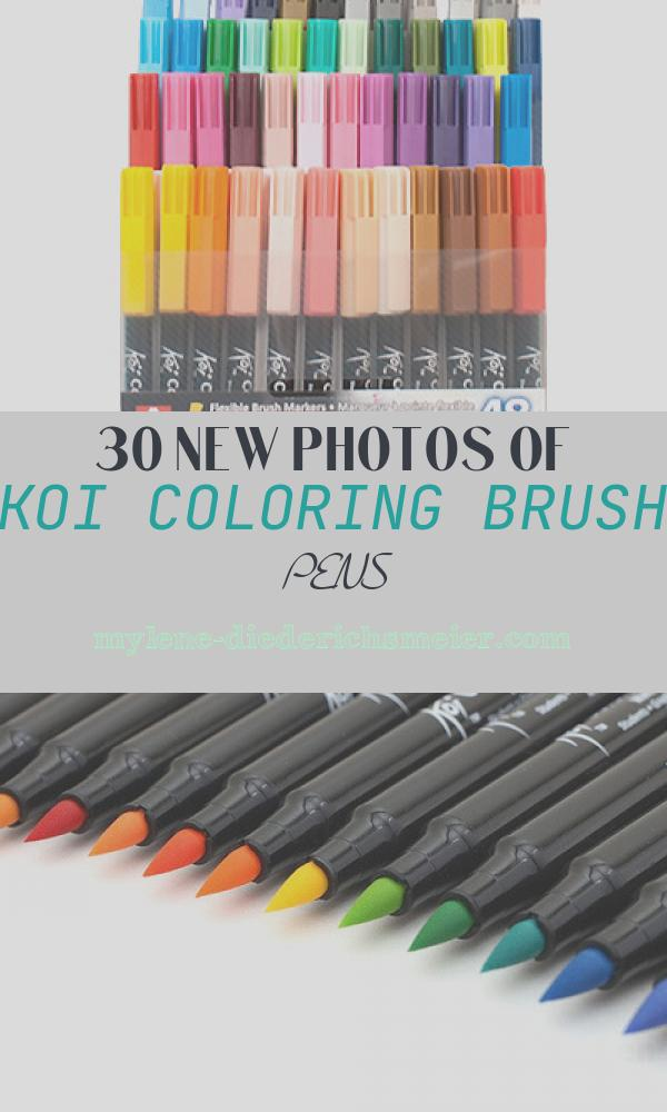 Koi Coloring Brush Pens Inspirational Koi Colouring Brush Pens Ken Bromley Art Supplies