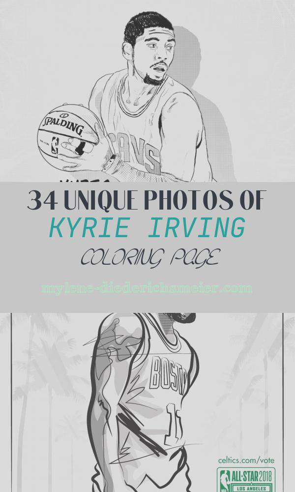 Kyrie Irving Coloring Page Best Of Kyrie Irving Coloring Pages