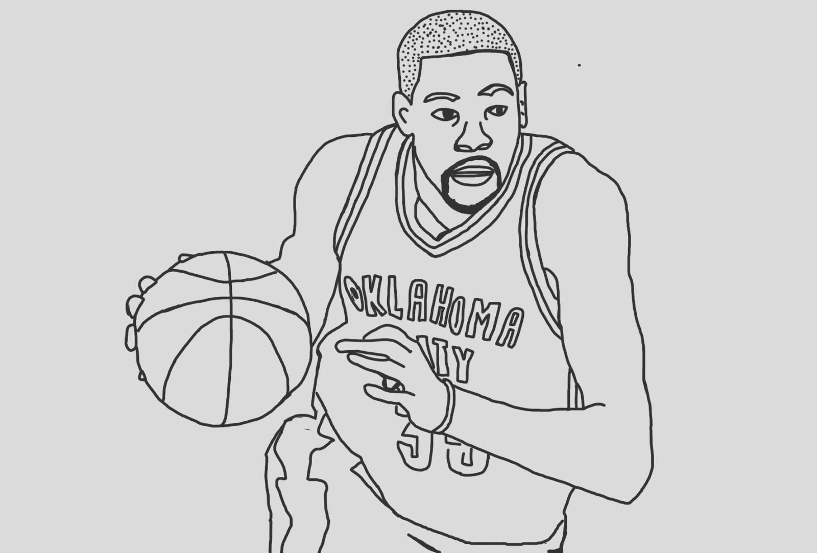 kyrie irving drawing pencil