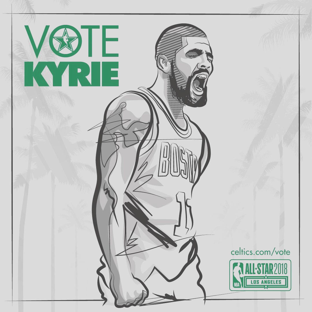 keep the votes ing kyrie irving is in position to be the east s first captain rt to cast your nbavote