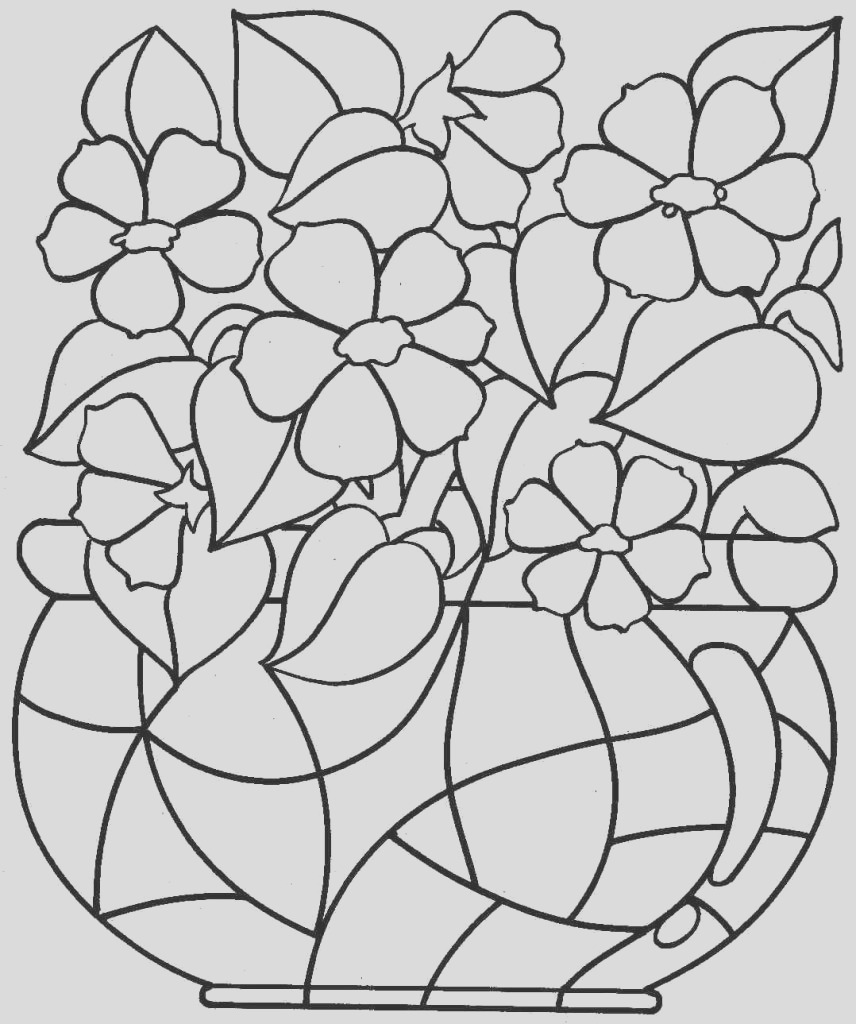 large print coloring pages for adults